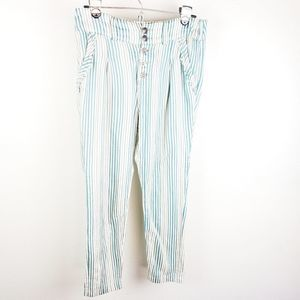 Free People 2 Striped Pants